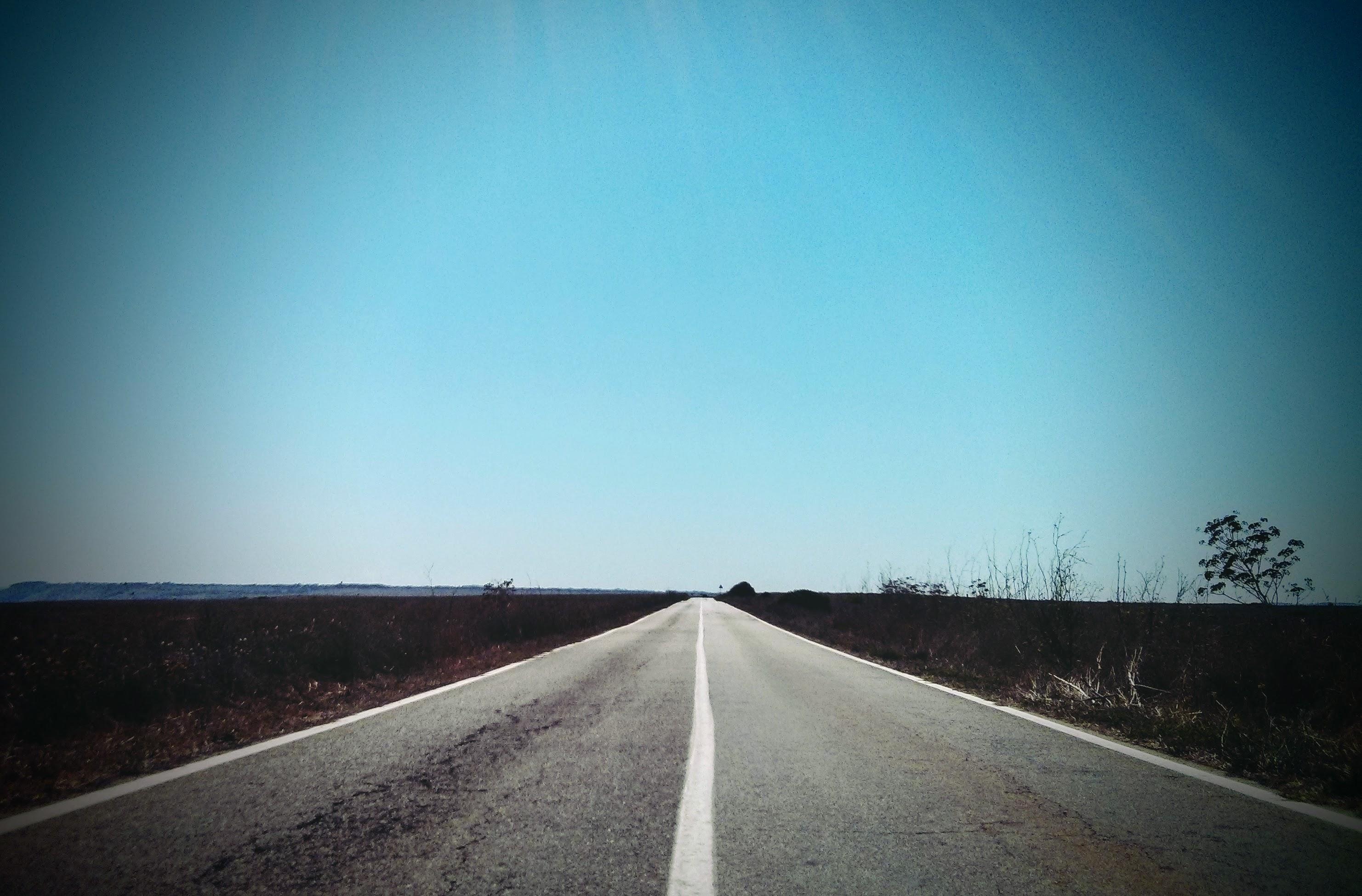 Strada, percorso, inizio.